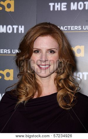 Sarah Rafferty at USA Network and Moth present