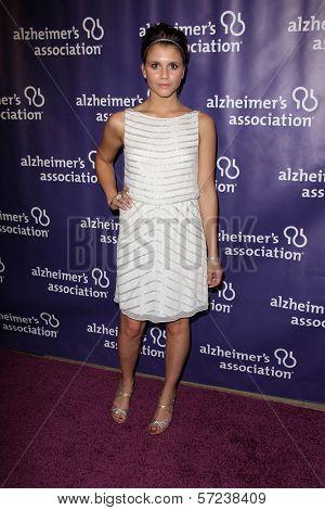 Alexandra Chando at the 20th Anniversary Alzheimer's Association