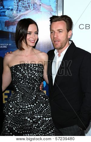 Emily Blunt and Ewan McGregor at the