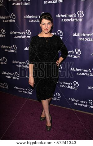 Mayim Bialik at the 20th Anniversary Alzheimer's Association