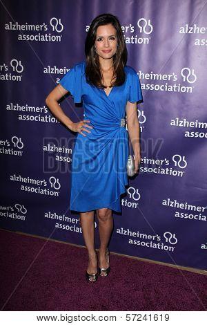 Torrey DeVitto at the 20th Anniversary Alzheimer's Association
