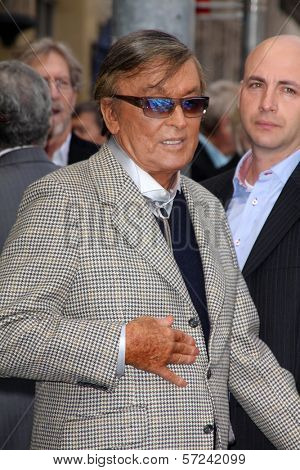 Robert Evans at the Sumner Redstone Star on the Hollywood Walk of Fame Ceremony, Hollywood, CA 03-30-12