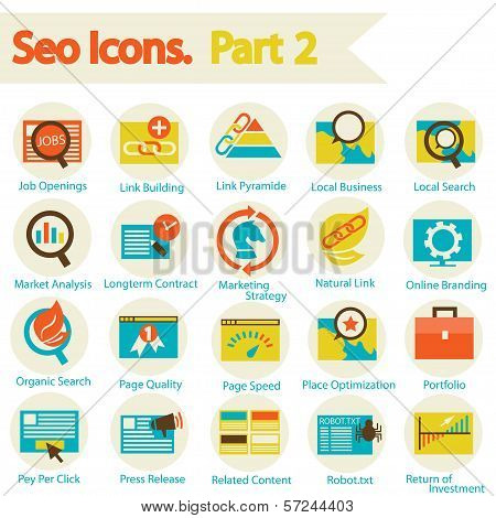 Seo Icons Set
