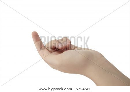 The Tip Of A Finger