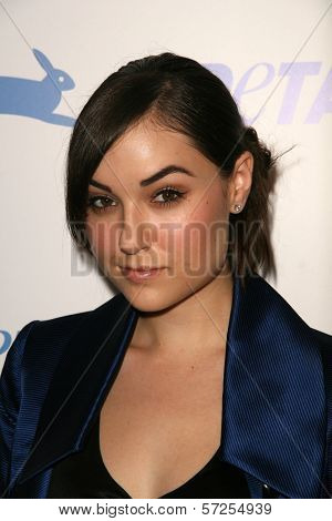 Sasha Grey  at PETA's 30th Anniversary Gala and Humanitarian Awards, Hollywood Palladium, Hollywood, CA. 09-25-10