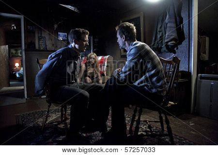 Ryan Honey, Jennifer Blanc and Michael Biehn On the Set of