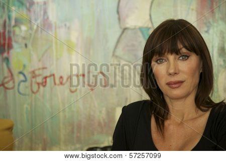 Tanya Newbould On the Set of