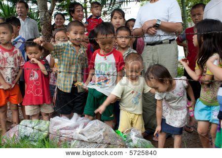 Hmong Refugees In Idc Nong Khai, Thailand
