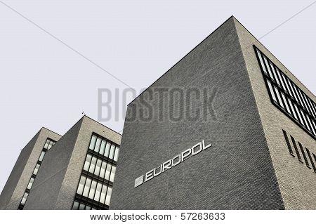 Europol Headquarter In The Hague, Den Haag.