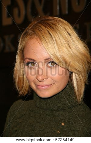Nicole Richie  at an in-store appearance for her new book