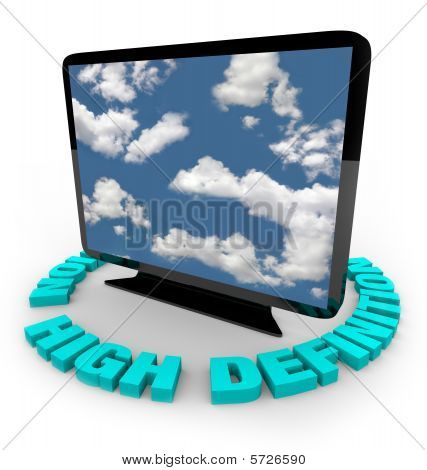 Hdtv Television - High Definition