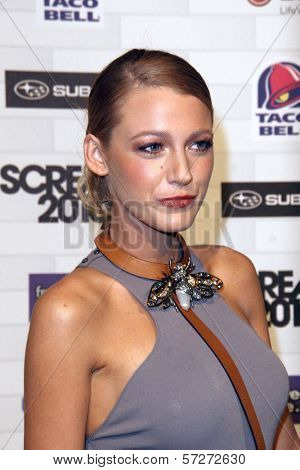 Blake Lively at Spike TV's
