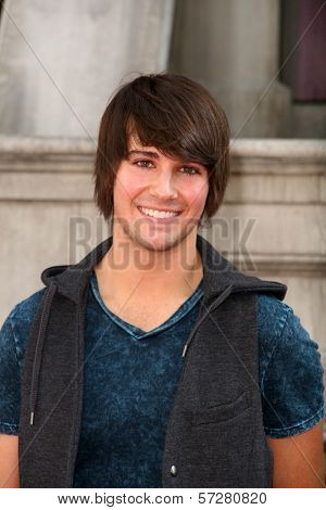 James Maslow at Variety's 4th Annual Power Of Youth Event, Paramount Studios, Hollywood, CA. 10-24-10