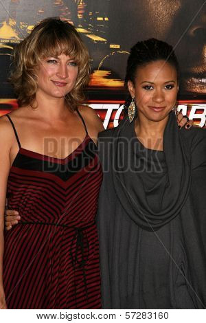 Zoe Bell and Tracie Thoms at the