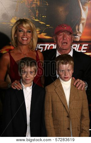 Tony Scott and family  at the