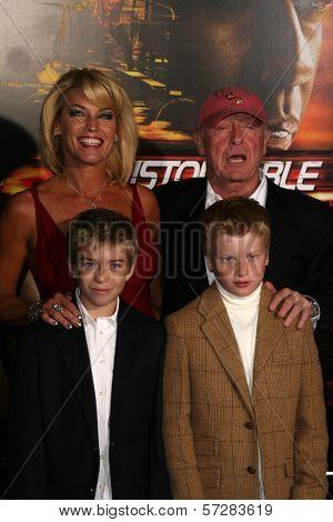 Tony Scott and family  at the