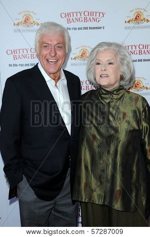 Dick Van Dyke and Sally Ann Howes at the