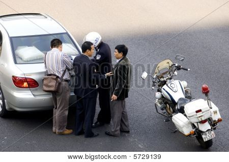 China - car accident