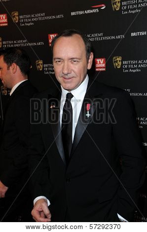 Kevin Spacey  at the 18th Annual BAFTA Los Angeles Britannia Awards, Century Plaza Hotel, Century City, CA. 11-04-10