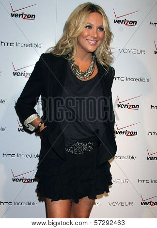 Stephanie Pratt at the Verizon/HTC Incredible Cabaret Event, Voyeur, West Hollywood, CA. 11-04-10