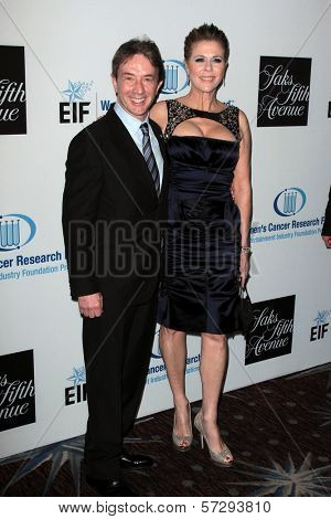 Martin Short and Rita Wilson at the 15th Annual