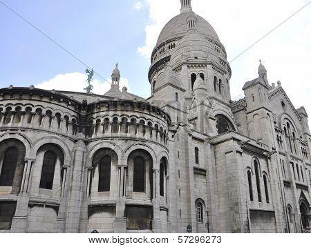 Basilica Sacre Coeur in Paris