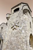stock photo of filerimos  - Templar knights monastery of Filerimos - JPG