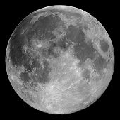 stock photo of full_moon  - The full Moon - JPG
