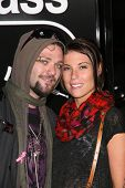 Bam Margera at the premiere of