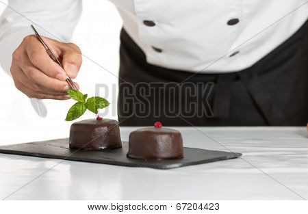Pastry With A Cake