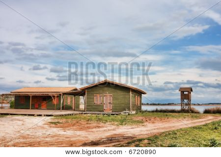 Green Huts In Kalogria