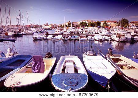 Porec Marina In Croatia