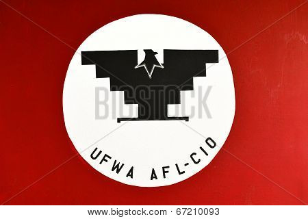 United Farm Workers of America Flag