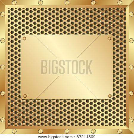 Metal Plaque