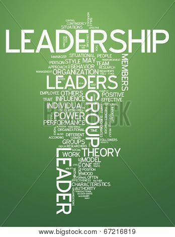Word Cloud Leadership