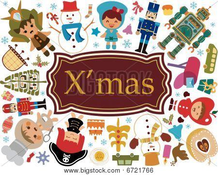 Christmas Cartoon Characters 2