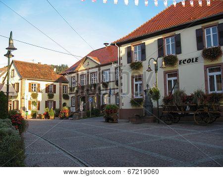 Typical Alsatian Village