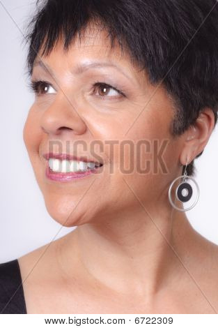 Portrait Of Mature Lady