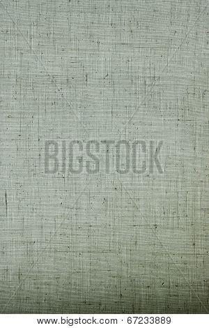 Texture Of Rough Linen Fabric
