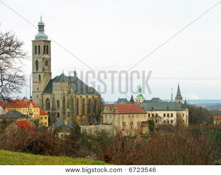St. James Church In Kutna Hora, Czechia