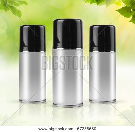 Eco sprays with clipping path