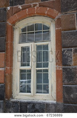 Window Decorated With Tuff