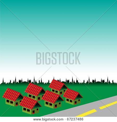 Brand new houses