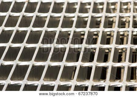 galvanized grating