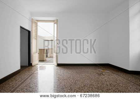 Inerior house, empty room