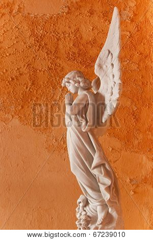 Angel sculpture, Cartagena, Colombia