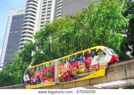 Monorail Train, Kuala Lumpur