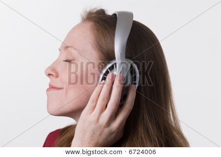 Woman With Headphones-09