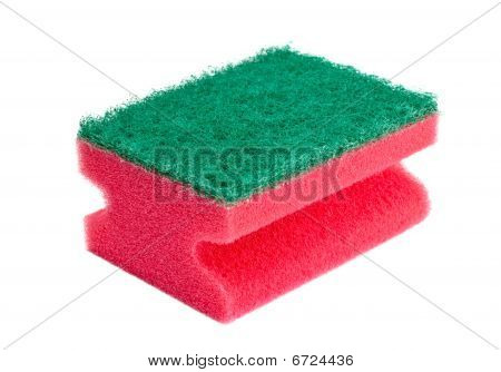 Red And Green Sponge