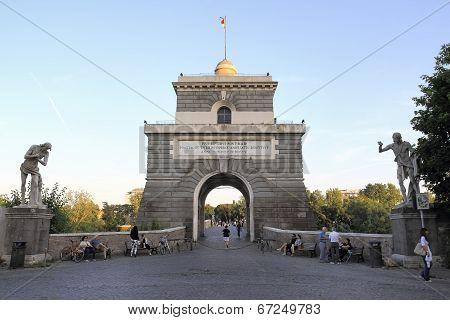 Ponte Milvio In Rome